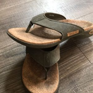 Sole orthopedic flip flops